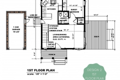 DESIGN 2 First Floor Floor Plan