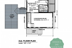 DESIGN 2 2nd Floor Floor Plan