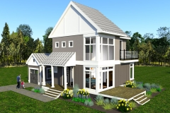 CORNER-DESIGN-2- THE MODERN FARMHOUSE PLAN