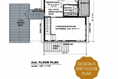 DESIGN 3- 2ND FLOOR PLAN