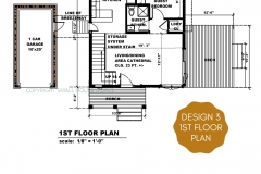 DESIGN 3- 1ST FLOOR PLAN