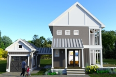 FRONT-VIEW-DESIGN-2-THE MODERN FARMHOUSE PLAN