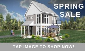 Sidebar image for Spring Sale with photo of The Modern Farmhouse. Spring Sale tap image to shop now